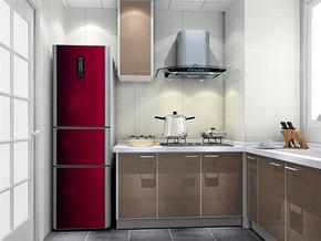 日式现代10平厨房装修效果图