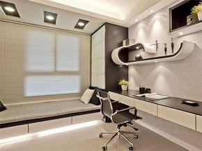 日式现代5平米书房装修效果图
