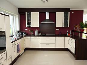 日式普通家庭厨房装修效果图