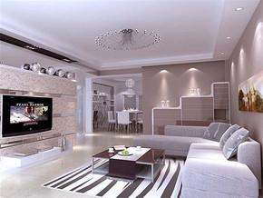 日式现代客厅沙发背景墙挂图