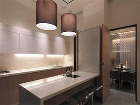 日式现代6平方米厨房装修效果图