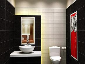 日式个性房屋卫生间装修效果图