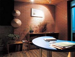 日式温馨小书房设计效果图