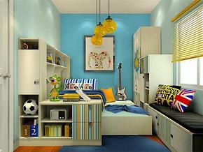 田园日式女生儿童房装修效果图