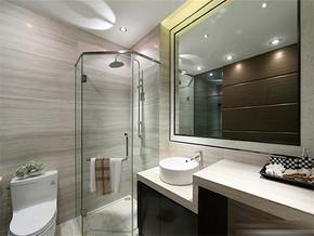 简约日式小型厕所装修效果图
