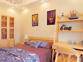 田园日式10平米的女生卧室如何装修
