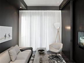 现代日式小型客厅装修效果图