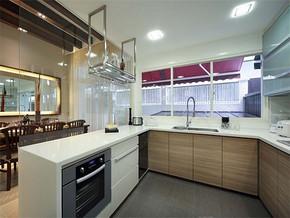 现代日式时尚6平方米厨房装修效果图