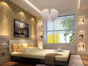 日式新房卧室装修效果图