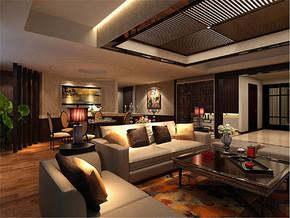 新古典客厅两室家装案例