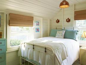 田园卧室一室一厅装修样板房