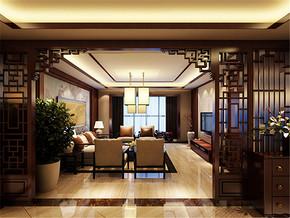 特色雅致中式客厅家居装修设计