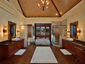法式乡村混搭洗手间装修设计