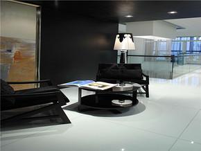 简约客厅一居室装修效果图