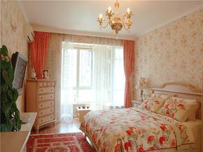一居室美式风格卧室装修效果