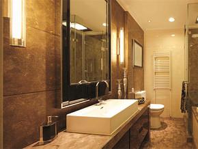 中式古典洗手间装修效果图