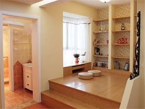 现代温馨混搭清新书房装修样板房