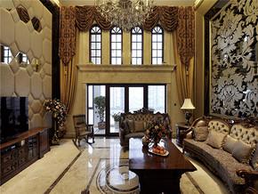 新古典奢华浪漫客厅装修设计