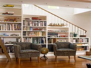 现代温馨简约主义书房装修样板房