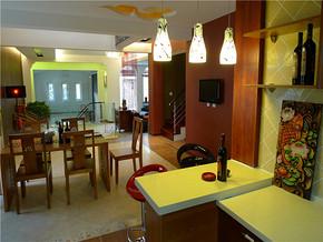 个性古典时代餐厅颜色设计