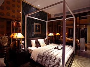 新古典主卧室床头时尚装修设计