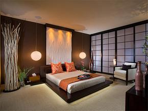 日式清新温馨卧室装修案例
