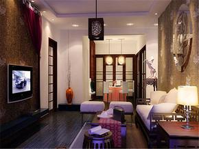 特色中式客厅特色装饰设计