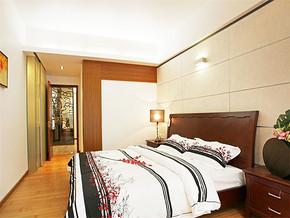 温馨复古实木家具卧室装修风格