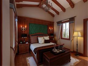 新古典风格卧室吊顶实景图欣赏
