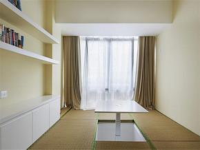 日式清新飘窗简约书房装修案例