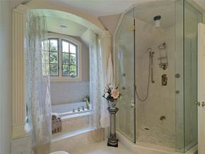 欧式家装卫浴背景墙效果