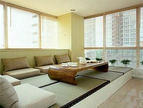 日式温馨简约客厅装修案例