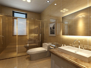 时尚欧式新房卫生间装修图片