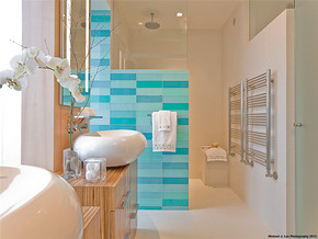 欧式时尚卫生间家居装修效果图