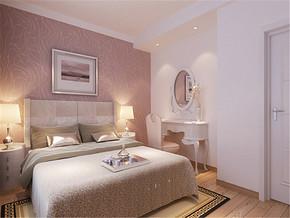 温馨精致简欧新房卧室装修图片