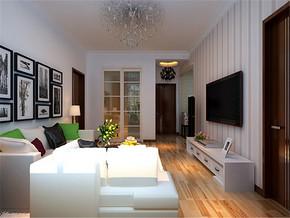 简约一室现代风格客厅经典案例图