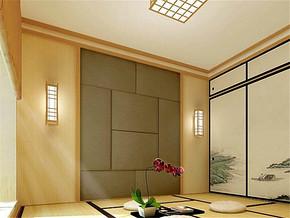 日式清新温馨书房装修案例