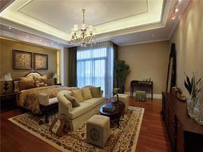 经典复古设计卧室装修效果图