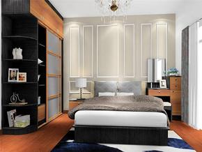 水晶吊灯时尚简约卧室家具装修风格