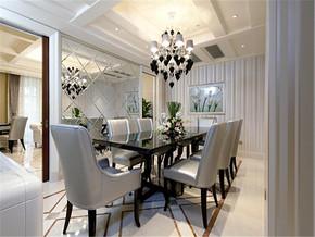 浪漫温馨欧式新房餐厅装修图片