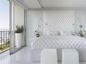 清新阳台纯净卧室装修风格