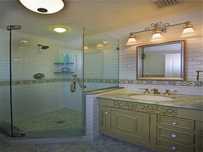 奢华欧式浪漫卫浴新房装修图片