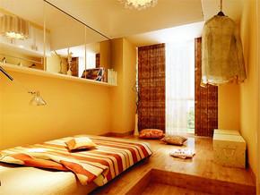 日式时尚温馨日式榻榻米卧室装修