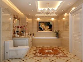 时尚大气欧式新房卫生间装修图片