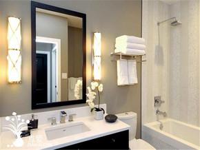 黑白简约时尚卫生间装修风格