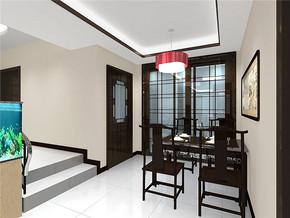 一居室现代欧式风格餐厅装修图