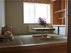 日式清新简约榻榻米书房装修风格