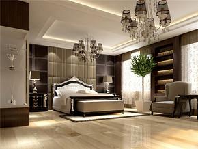时尚大气简欧卧室房屋装修图