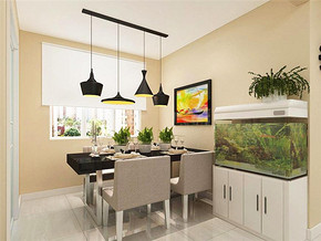 创意简约吊灯现代餐厅家具装修