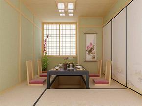 日式榻榻米风情小餐厅装修图片